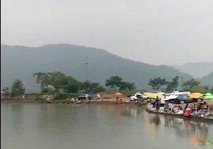 碧湖湖底渔场