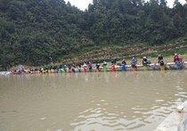 麻江摆沙山水间竞技场