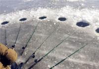 有流水時的一些冰釣技巧