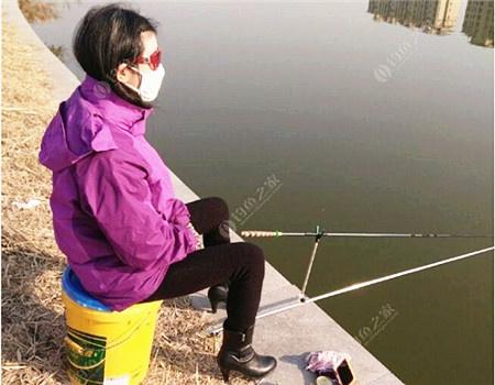 冬钓,钓的不是鱼 红虫饵料钓鲫鱼