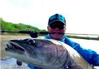 《藍旗魚小汐路亞視頻》 地球尋夢|哈拉哈河的冷水魚 第2集 打狗英雄