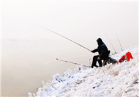 老钓鱼人总结的冬季钓鱼八技巧