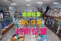 漁具店商品擺放該如何?