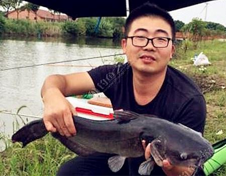 力搏长江鮰鱼