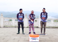 《湖库突击队》第二十八期   升钟湖三人行